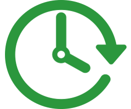 Image result for time green icon png